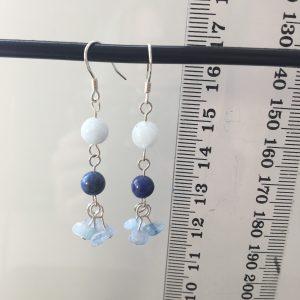 Sodalite & Aquamarine Earrings